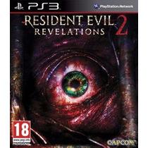 Ps3 - Resident Evil Revelations 2 Míd Fís Lacrado Leg Pt Br