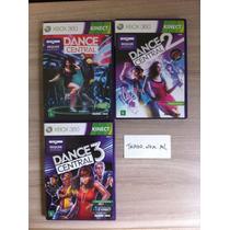 Trilogia Dance Central 1, 2 E 3 - Xbox 360 Kinect - Original