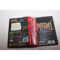Jogo Cartucho Mega Drive Pitfall - Oportunidade Única