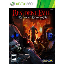 Resident Evil Operation Raccoon City Jogo Xbox 360 Lacrado