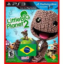 Little Big Planet 2 Ps3 Psn Dublado Portugues Br Promocao