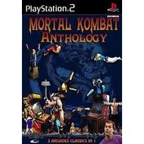 Mortal Kombat Antholog Ps2 Patch Promoção Por Tempo Limitado