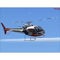 Fsx 4 Helicopteros Aguia Policia Militar E Globocop