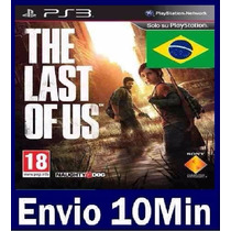 The Last Of Us Em Português Dublado - Ps3 Código Psn