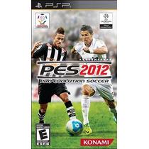 Pro Evolution Soccer 2012 Psp Portable Pes 12 Frete Grátis!