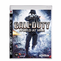 Call Of Duty World At War Mídia Física Lacrado Ps3 Rcr Games