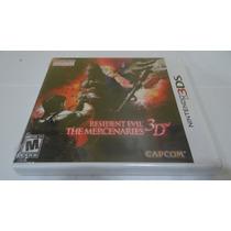 Resident Evil The Mercenaries 3d - 3ds - Lacrado!