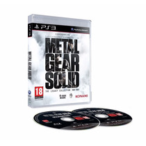 Metal Gear Solid The Legacy Collection Ps3 Novo Frete Grátis