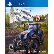 Farming Simulator 15 Em Português Mídia Física Ps4