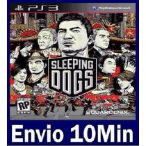 Sleeping Dogs Digital Edition Ps3 Código Psn