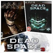 Ps3 Dead Space 1, 2 E 3 A Pronta Entrega
