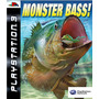 Monster Bass Pescaria Ps3 Psn Midia Digital Original