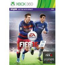 Fifa 16 Xbox 360 Português Lacrad Original Mídia Física 2016
