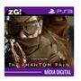 Metal Gear V Phantom Pain - Ps3 Psn - Legendado - Online