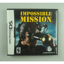 Impossible Mission / Nintendo Ds - Jogo Original E Completo!