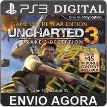Uncharted 3 Drakes Deception Playstation3 Psn Português