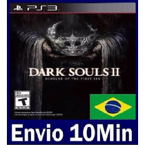 Dark Souls 2 Ii: Scholar Of The First Sin Ps3 Código Psn