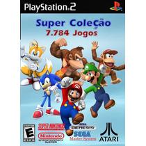 Super Colecão 7800 Jogos Snes + Mario Collection Para Play-2