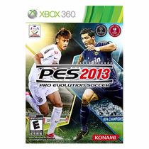Pes 2013 Pro Evolution Soccer - Xbox 360 - Midia Física