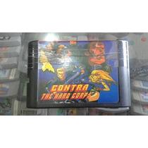 Contra The Hard Corps Mega Drive Paralelo