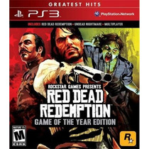 Red Dead Redemption + Undead Nightmare Ps3 Mídia Física