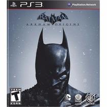 Jogo Ps3 Batman Arkham Origins Midia Fisica Lacrada