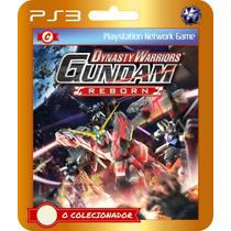 Dynasty Warriors: Gundam Reborn (códigos Ps3)