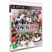 Pes 2014- Ps3 - Pro Evolution Soccer 2014 Konami