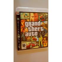 Jogo Ps3 Gta 4 Grand Theft Auto Iv Ps3 Midia Fisica