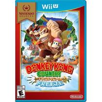 Donkey Kong Dk Country Tropical Freeze Wii U Pronta Entrega