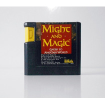 Cartucho Jogo Might And Magic Original Mega Drive