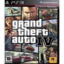 Jogo Ps3 Grand Theft Auto Iv -original -midia Fisica