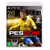 Pes 16 Ps3 Pes 2016 Pro Evolution Soccer 2016 Português -ps3