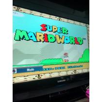 Fita Super Mario World Super Nintendo Snes