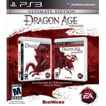 Dragon Age Origins Ultima Edição Play 3 Ps3 Novo Original