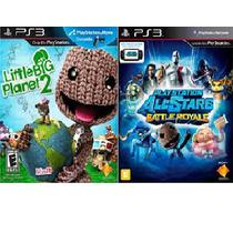 Little Big Planet 2 + Playstation Battle Royale Ps3 Digital