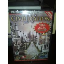 Civilization Iv + Pacote De Expansão Cd Original Lacrado