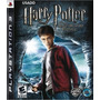 Harry Potter And The Half-blood Prince Ps3 Mídia Física