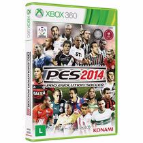 Pes 2014 Português Br Xbox 360 Original *** Mídia Física ***