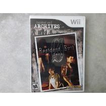 Resident Evil Archives: Resident Evil Zero - Wii -seminovo