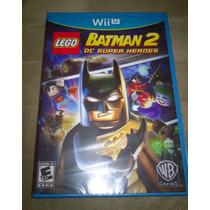 Nintendo Wii U - Lego Batman 2 Dc Super Heroes (lacrado)