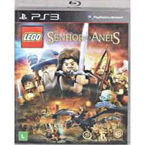 Jogo Lego Senhor Dos Aneis Para Ps3 /semi Novo/barato!