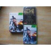 Jogo Battlefield 4 Xbox 360 + Dvd Tropa De Elite Original