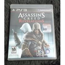 Assassins Creed Revelations 3d Ps3