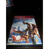 God Of War Original Americano Completo P Playstation 2
