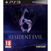 Game Resident Evil 6 Novo Lacrado Playstation 3