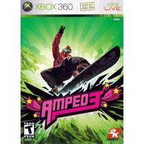 Jogo Amped 3 Original E Lacrado Para Xbox 360 A6393
