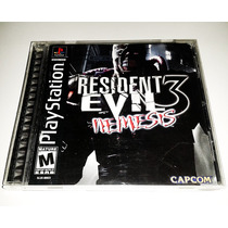 Resident Evil 3: Nemesis * Original* Completo! Ps1, Ps2, Ps3