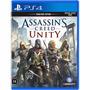 Jogo Ps4 Assassin´s Creed Unity Ps4 Original