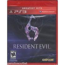 Jogo Ps3 Resident Evil 6 Midia Fisica Novo/lacrado Legendado